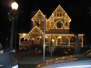 Casa iluminada en Mount Dora